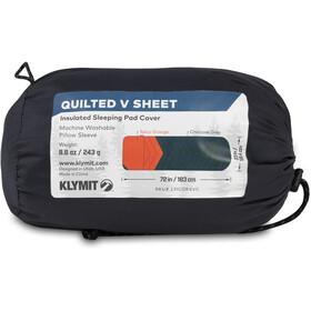 Klymit Quilted V Bezug red/grey